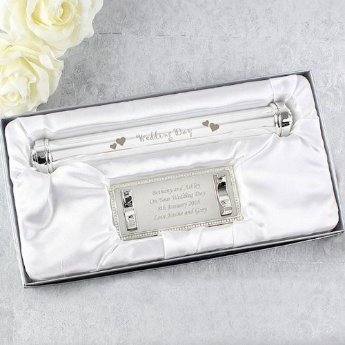 Wedding Day Certificate Holder